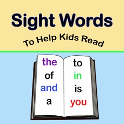 Sight Words to Help Kids Read (Ad Free)