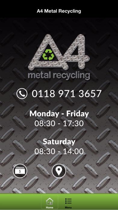 A4 Metal Recycling screenshot one