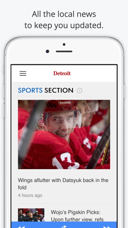 Detroit GameDay Radio for Live Sports – Lions and Red Wings Edition screenshot-4