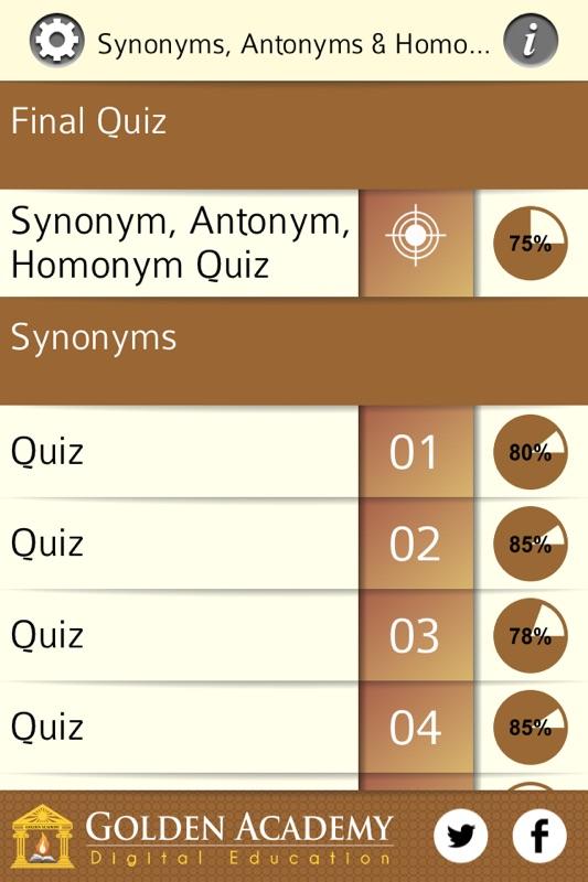 Grammar Expert: Synonyms, Antonyms and Homonyms - Online