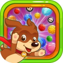 Bubble Shooting : Super Dog