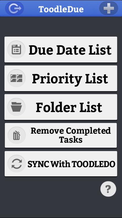 ToodleDue To Do Lists screenshot-3