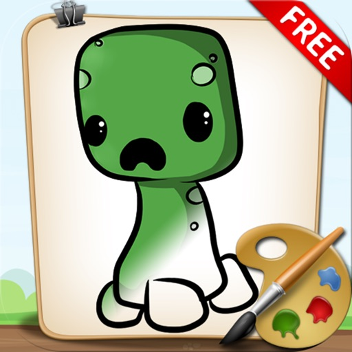Coloring Book for Minecraft Free
