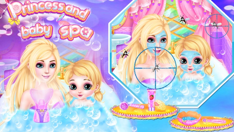 Princess And Baby makeup Spa - makeover