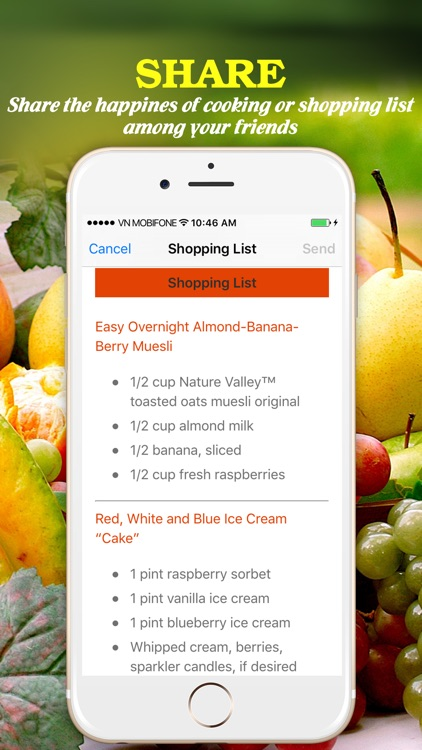 Yum Fruit Pro ~ Best Easy and Delicious Fruit Recipes screenshot-4