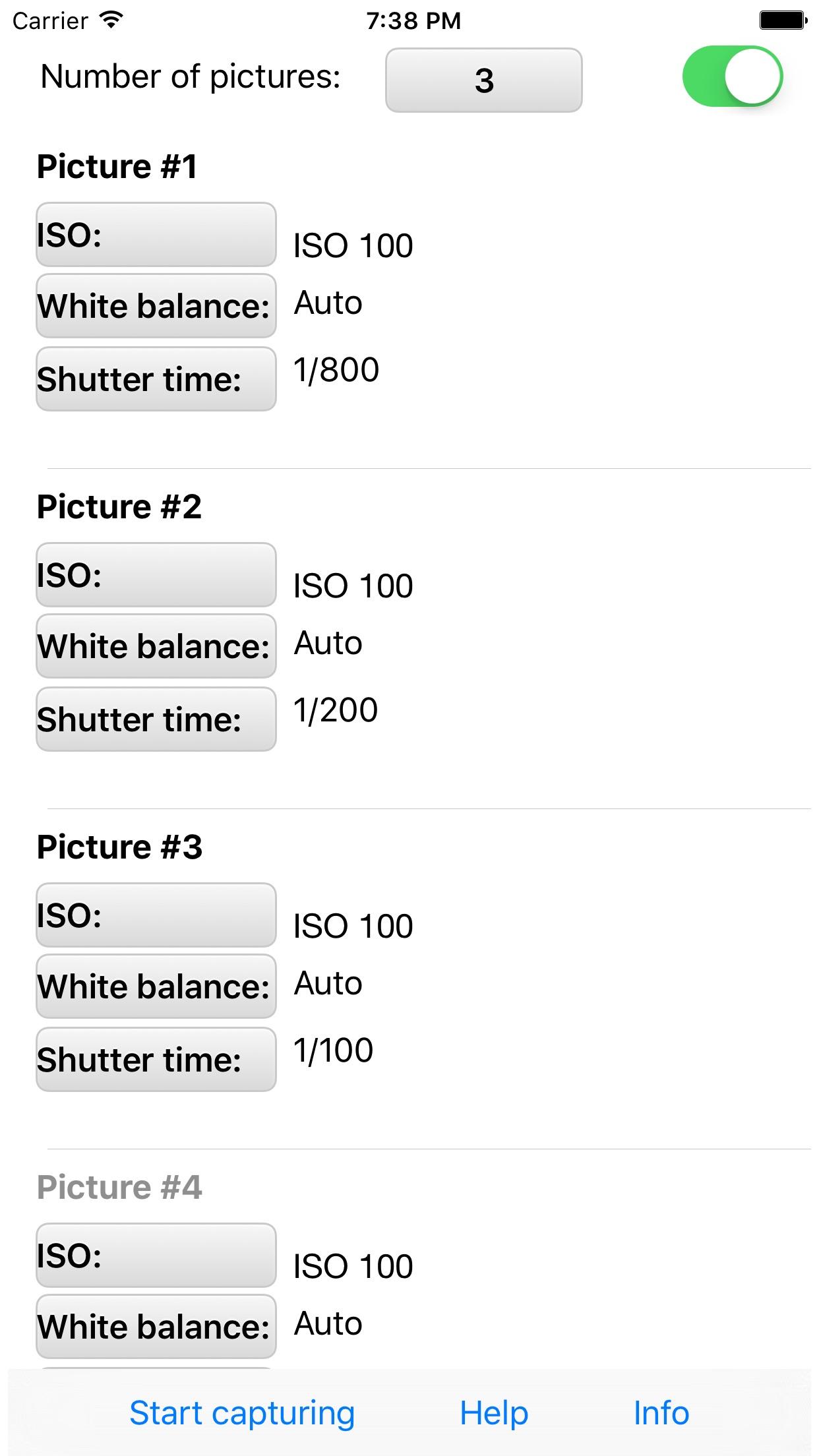 HDR for Ricoh Theta S Screenshot