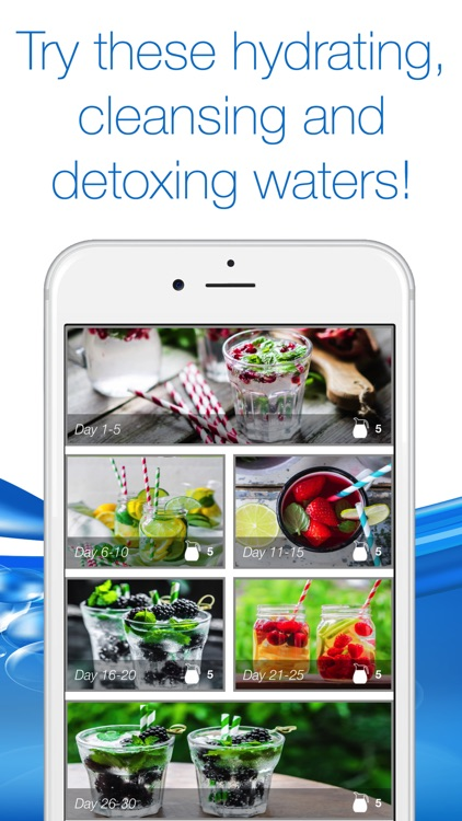 30 Day Water Detox Challenge