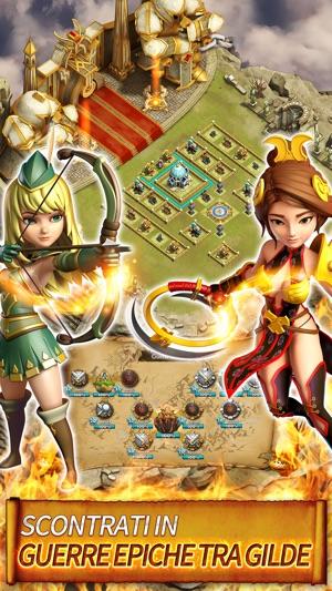 Hero Sky: Guerre tra Gilde su App Store