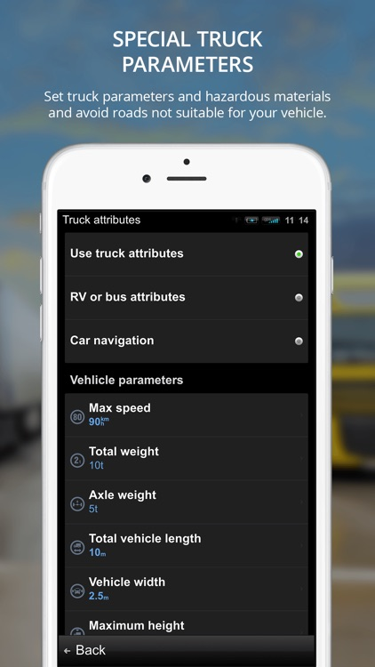 Sygic Truck GPS Navigation for Truck, Van, RV, Bus app image