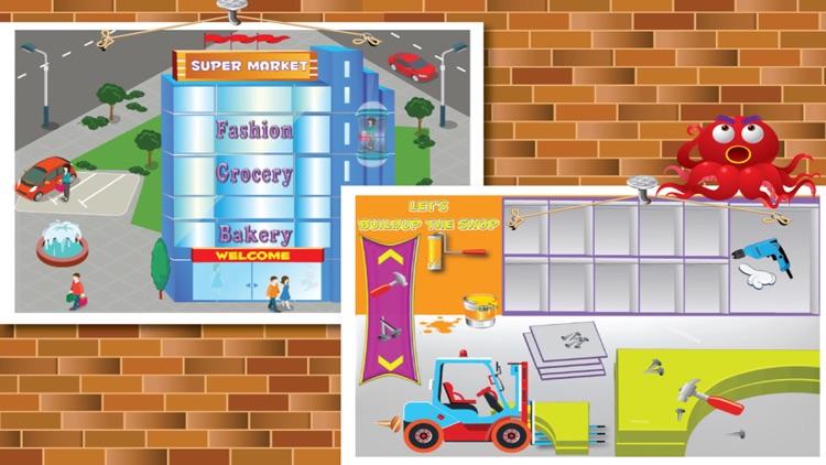 Supermarket Boy Shopping Mall Buildup - Design & build a super market from scratch