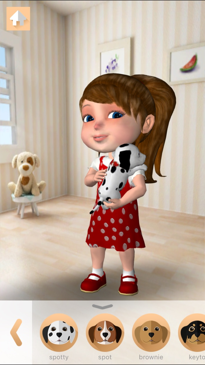 Anya Dress Up & Pet Puppies Screenshot