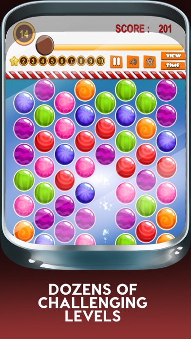 Yummy Juicy Candy Match: Sweet Factory Puzzle Game screenshot two