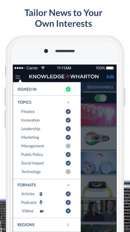 Knowledge@Wharton screenshot-3