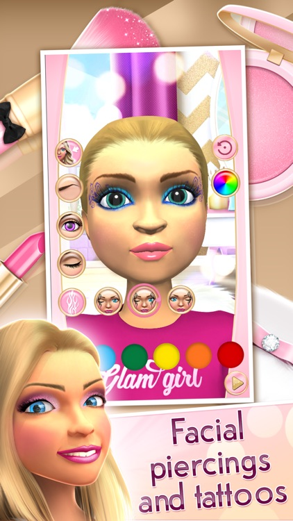 Glam Doll Makeover Games Beauty