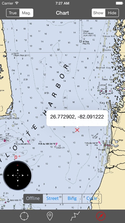 Charlotte Harbor (Florida) - Raster Nautical Charts screenshot-3