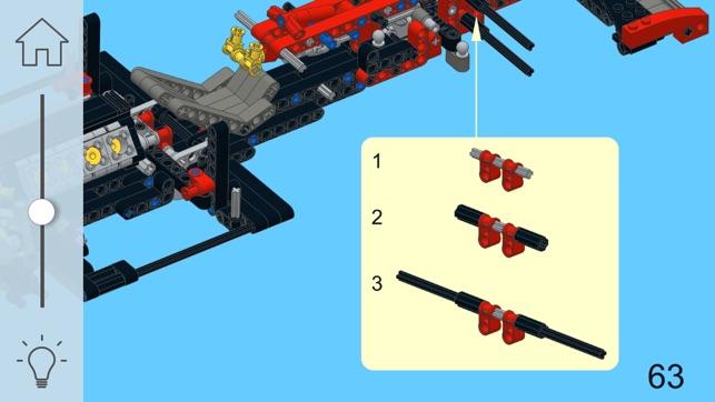 Ferrari Racer For Lego Technic 8070 Set Building Instructions On