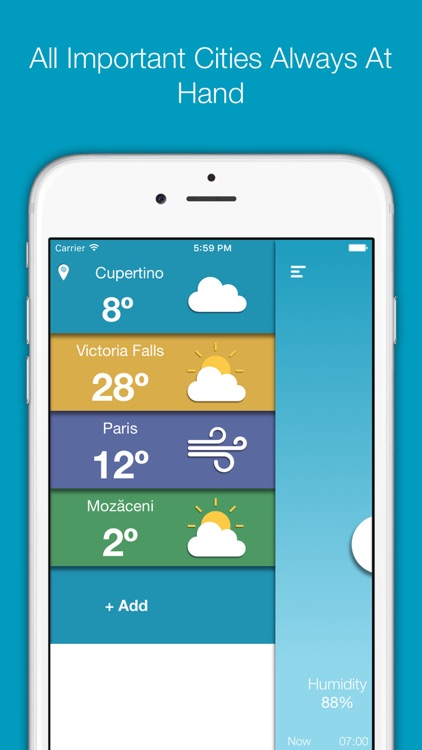 Simply Weather (Flat Design) screenshot-3
