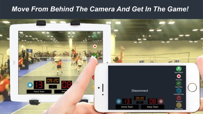 Screenshot for ezReelz vBall Remote in United States App Store