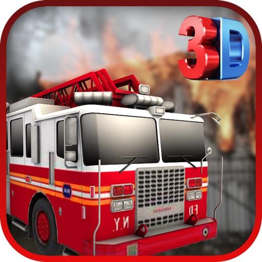 Firefighter Truck Simulator 3D