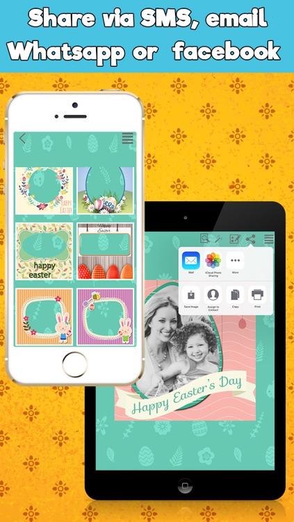 Happy Easter Frames Photo Editor screenshot-4
