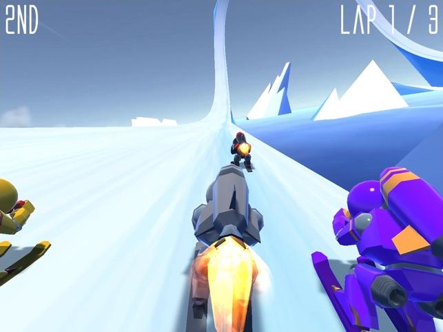 Rocket Ski Racing Screenshot