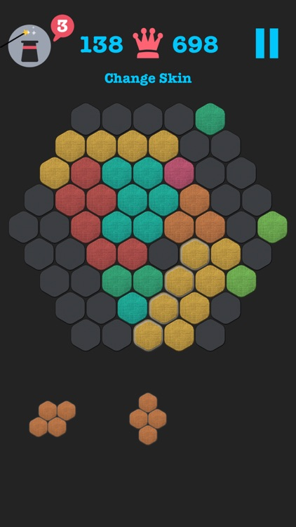 10/10 Hex Fit - Block Puzzle Hexagon Brick Mania screenshot-3