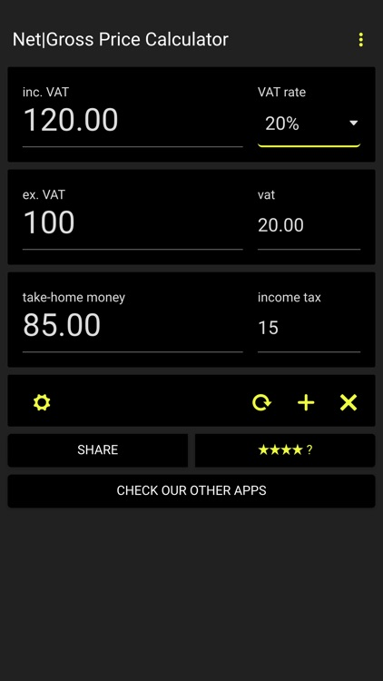 net gross price calculator calculate price with and without tax