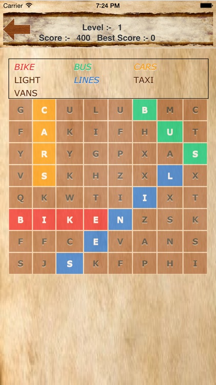 Words Search Puzzles Free screenshot-3