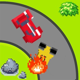 Crash Race -  The racing car game in 8 bit style