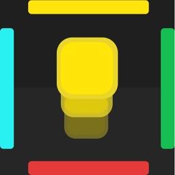 Q.BO - color swipe reaction puzzle game