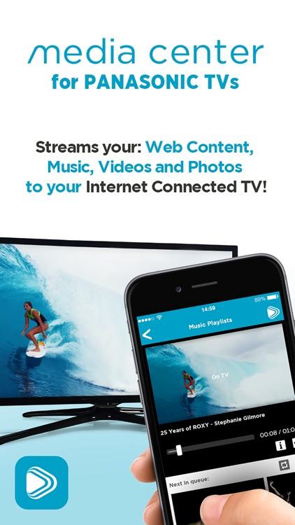 Media Center for Panasonic TVs screenshot-0