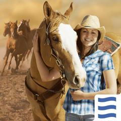 Mon Cheval Western – Premium & Sûr pour les enfants