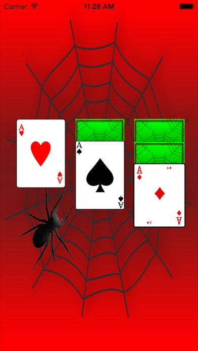 Spider Solitaire Spiderette Card Blitz - Future Mighty Contest of Champions Screenshot