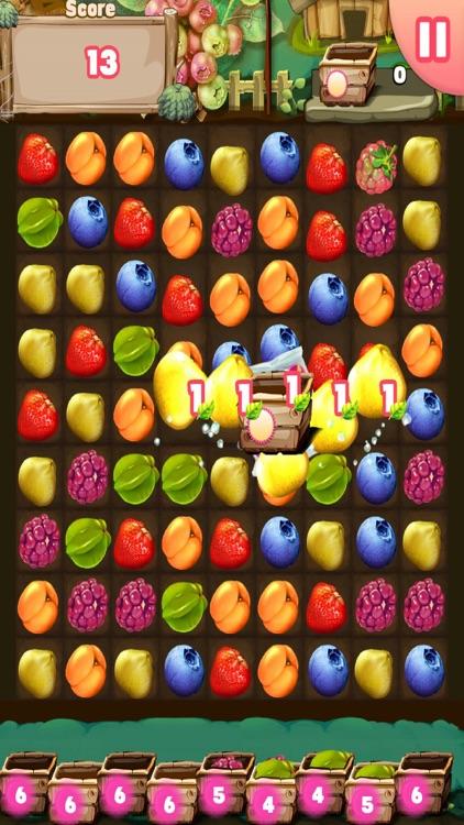 Farm FRUIT Crush - Match 3 King
