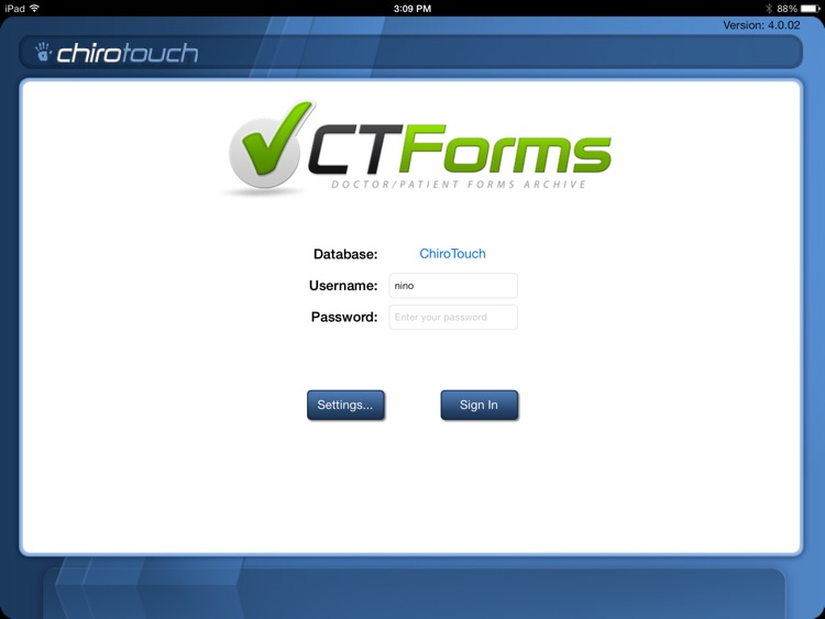 CT Forms Mobile 6.4