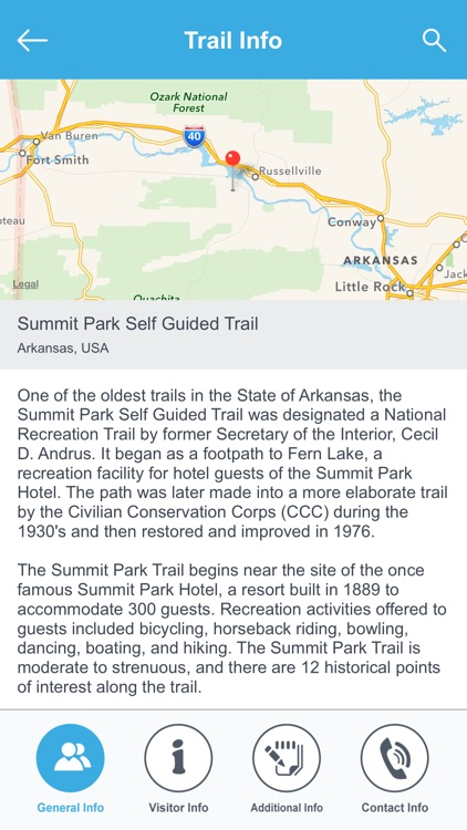 Arkansas Recreation Trails screenshot-2