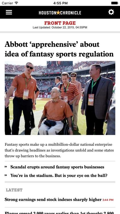 Houston Chronicle app image