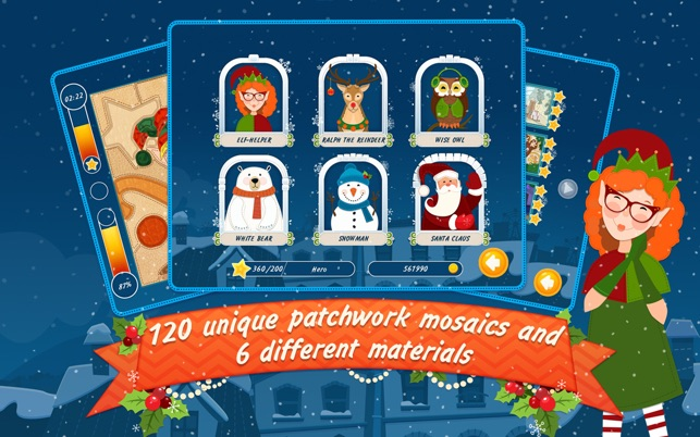 Christmas Mosaic Puzzle Free on the Mac App Store