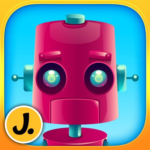 Friendly Robots - puzzle game for little boys, girls and preschool kids - Free