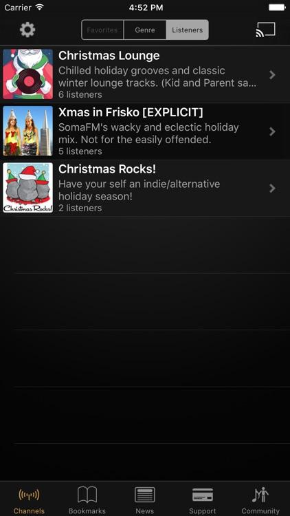 SomaFM Holiday Radio
