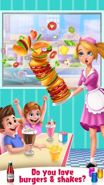 Burgers & Shakes - Fast Food Maker screenshot-0