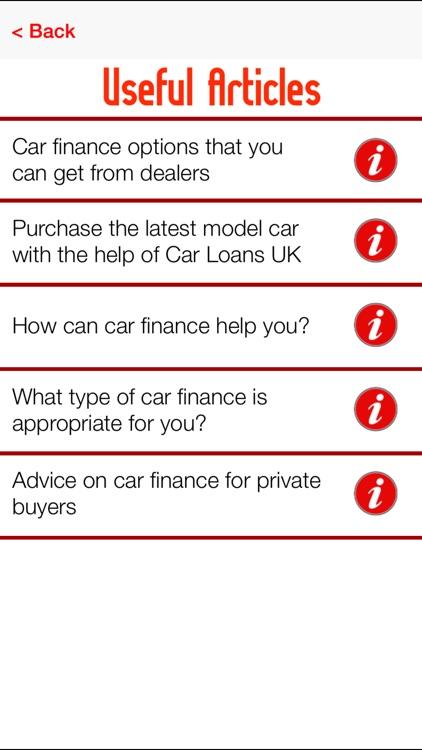 Car Loans UK screenshot-3