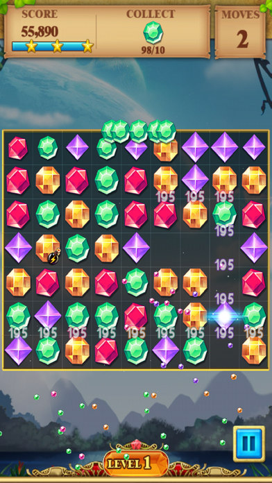 Jewel Match Blitz - Jewel Quest Saga screenshot three