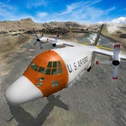 Police Airplane Prisoner Transport
