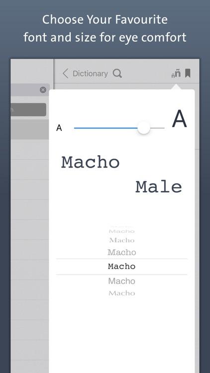 Spanish Dictionary   Offline Translation With Pronunciation screenshot-4