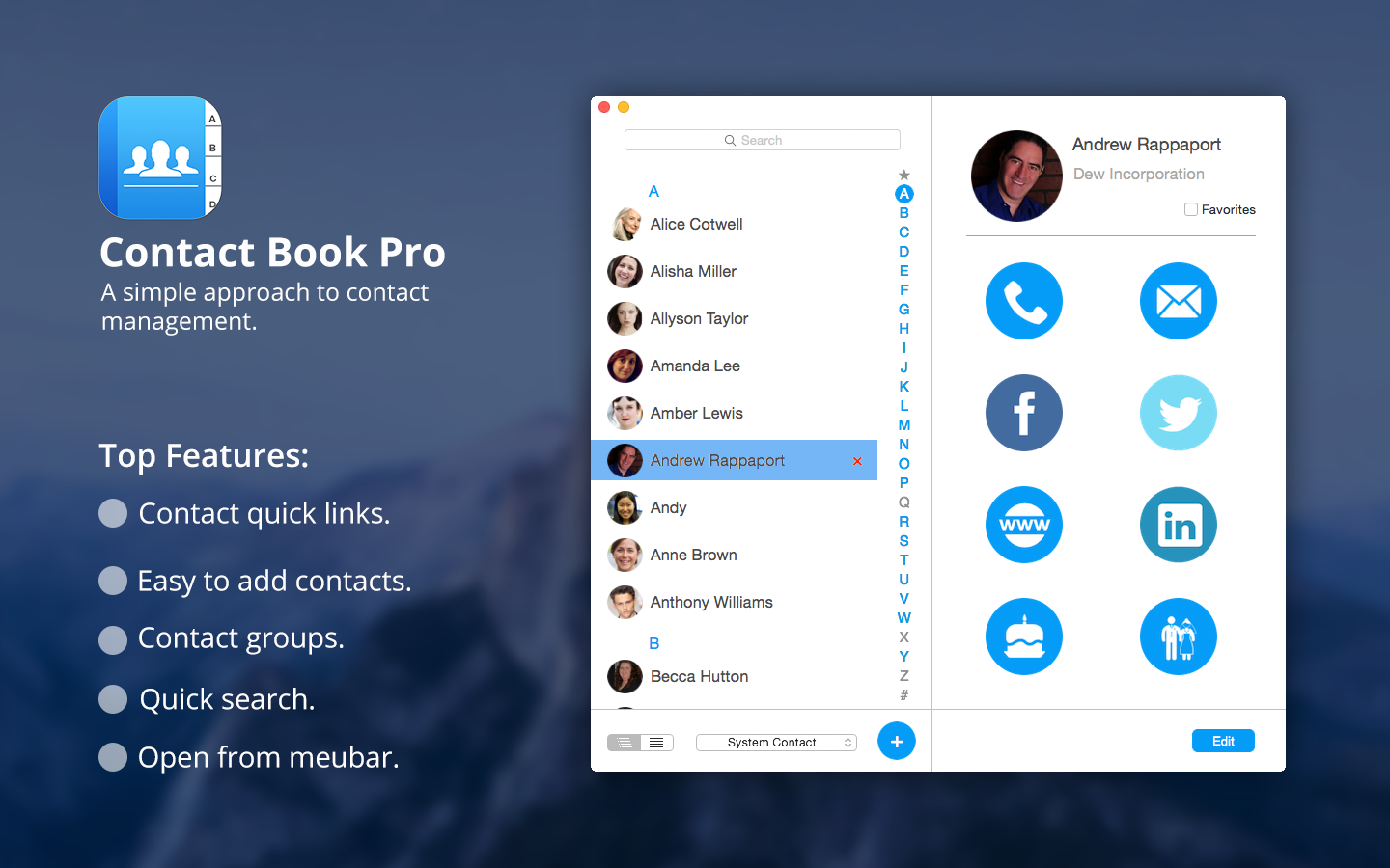 Contact Book Pro