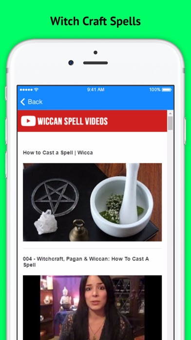 Wiccan and Witch Craft Love Spells screenshot three