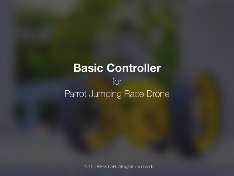 Basic Controller for Jumping Race Drone - iPad Edition screenshot-3