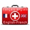This App is created to serve to frequent travelers and tourists disposed to any kind of danger or health risk, and therefore in the need of medical assistance, while in some foreign speaking country