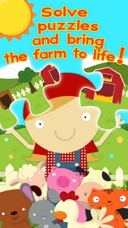 Farm Games Animal Games for Kids Puzzles for Kids screenshot-0